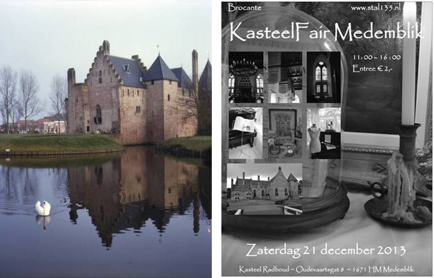 Brocante kasteelfair medemblik 2013