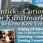 Antiek-, Curiosa- en Kunstmarkt Veere 2014