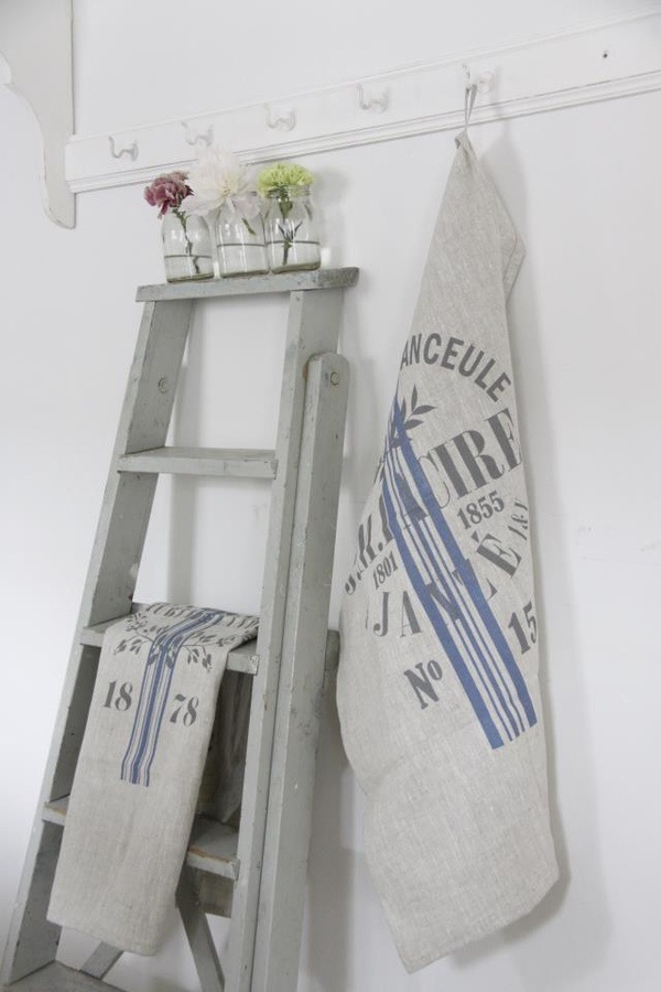 Decoratieve ladders bobbie 39 s home - Origineel tuin idee ...