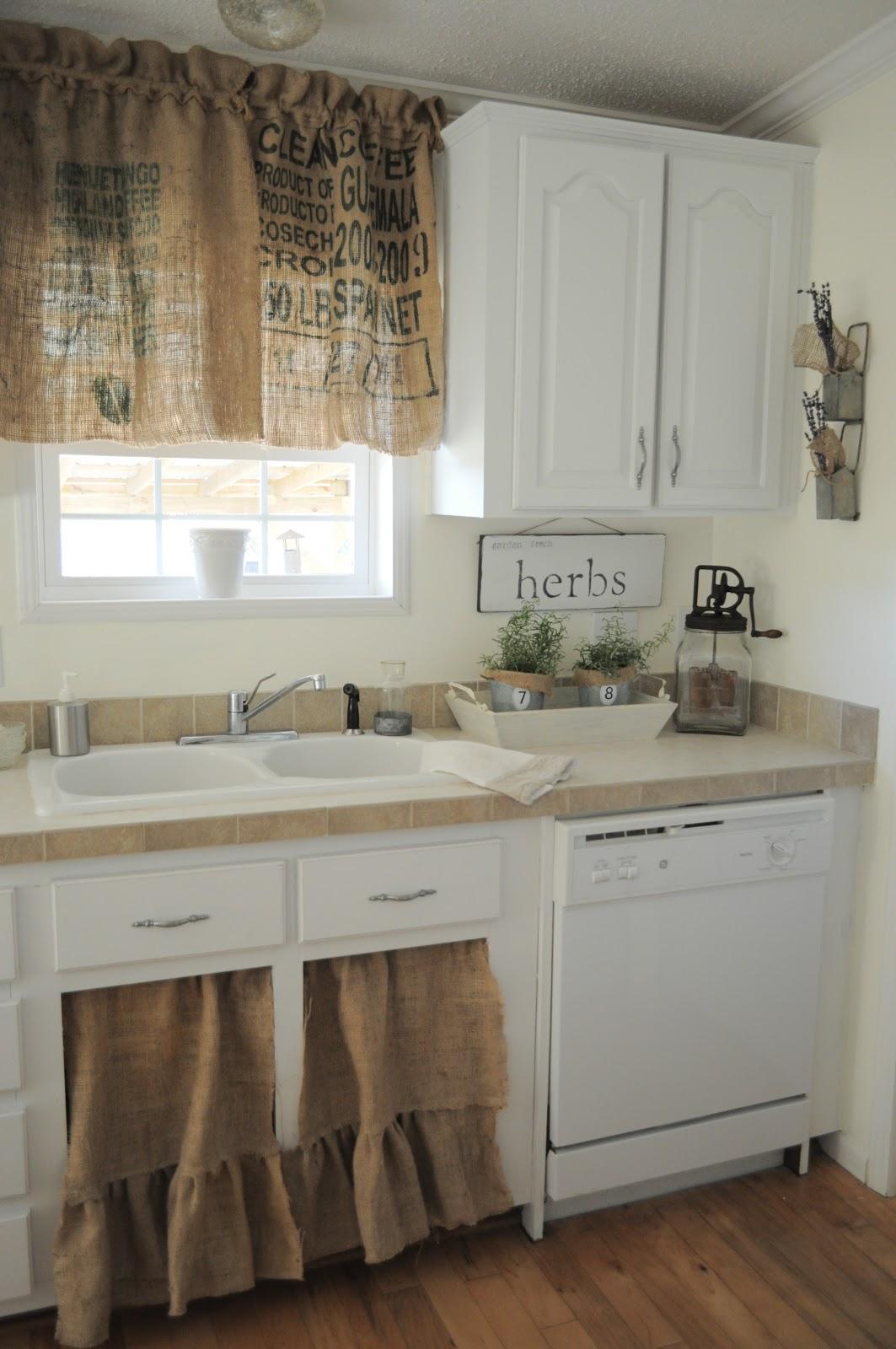landelijke brocante keuken : Brocante Keuken Het Keukengordijntje Bobbie S Home