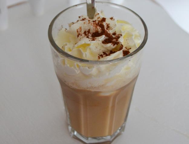 Overheerlijke ijskoffie