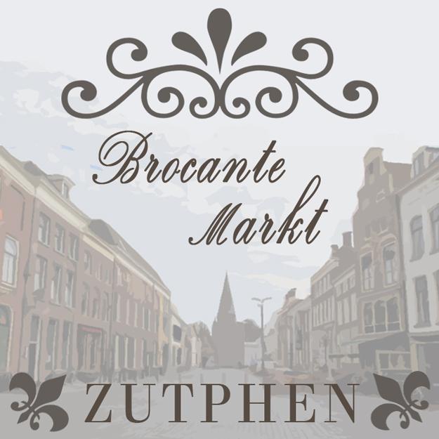 Brocante markt Zutphen 2014