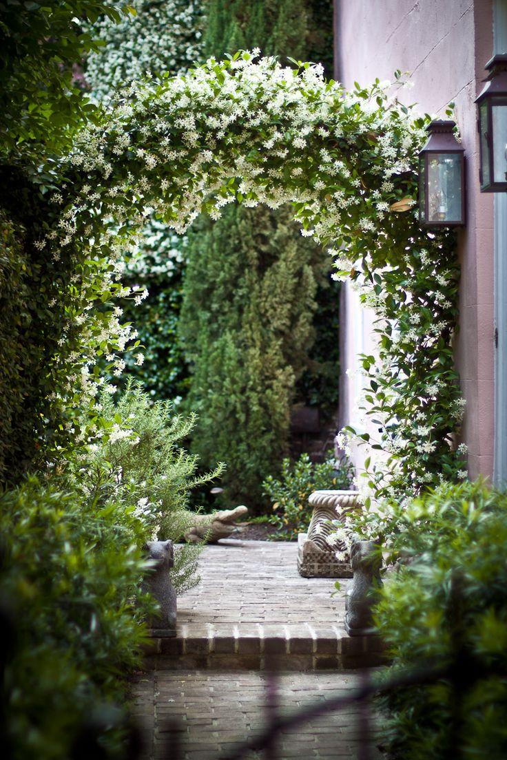 Romantische tuin