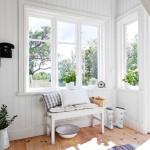 Binnenkijken in een Zweeds huisje