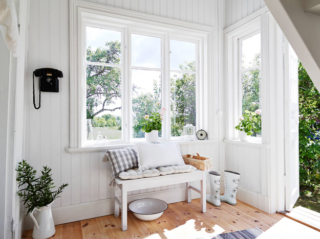 Binnenkijken in zweeds huisje