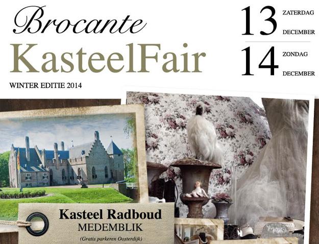 Brocante kasteelfair medemblik 2014