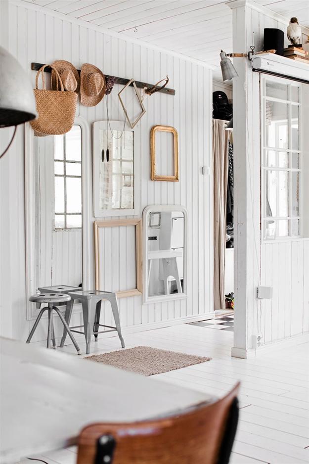 Lege lijsten als decoratie bobbie 39 s home for Huis interieur ideeen