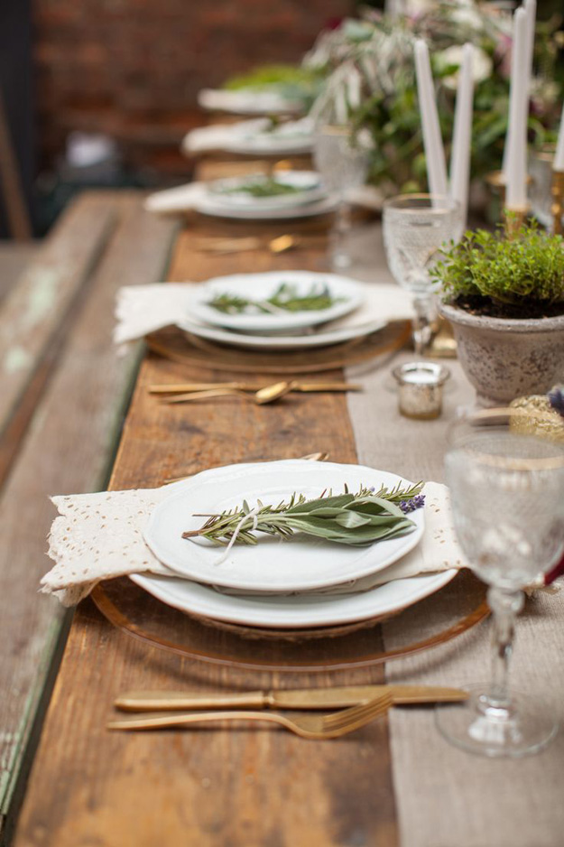 Feestelijke tafel