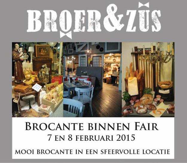 Brocante binnen fair Beverwijk