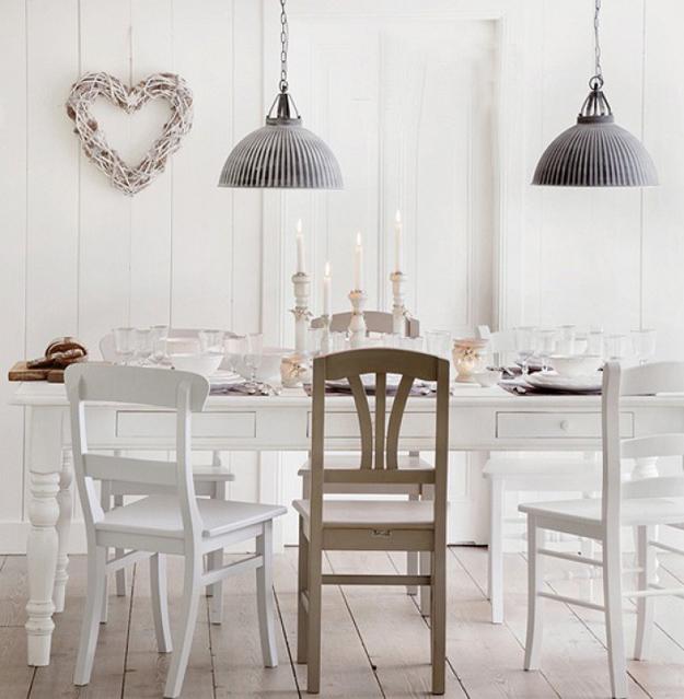 Gemengde eetkamerstoelen